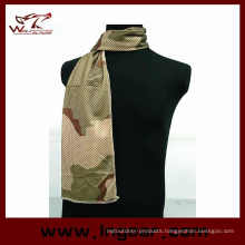 Scarves New Brand Multi Tactical Camouflage Net Mesh Army Scarf Cover Neckerchief Camo Military Hiking Scarves