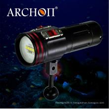 Archon W40vr Vidéo de plongée Lumière Max 2600 Lumens Diving Light