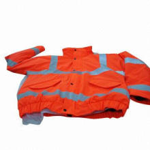 High Visibility Work Wear with Elastic Bottom