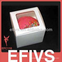 2013 Красивейшая таможня напечатанная коробка торта чашки