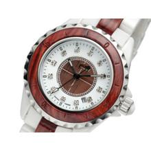Relógio de madeira dos homens novos do estilo por atacado da fábrica OEM