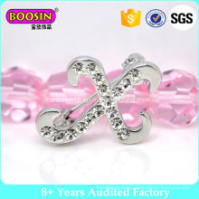 Customized Rhinestone Letter Brooch