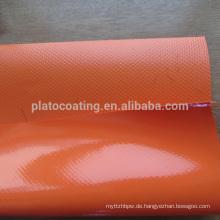 Make-to-Order Versorgung Typ und einfache Art PVC beschichtete Plane