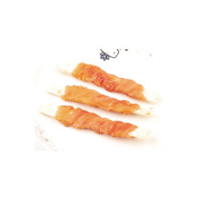 Supply for Air-dry Pet Snacks Chicken Wrap Cod Fish Premium Dog Treats Wholesale supply to France Exporter