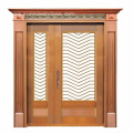 High Quality Handmade Copper Unequal Double Door