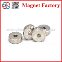 powerful ring ndfeb electromagnet coil 3mm