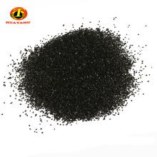 Charbon actif de noix de coquille de 1-2mm pour l'élément de filtre de distributeur d'eau