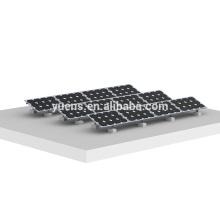 Estructura de montaje PV Montaje de triángulo ajustable Montaje de paneles solares de techo plano