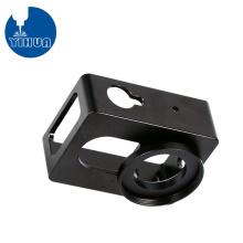 Boîtier de caméra en aluminium à revêtement noir