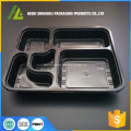envase de comida disponible microwaveable plástico negro