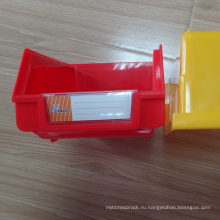 Дешевые пластиковые настенные коробки установлены пластиковые бункера для полки супермаркета