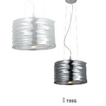 Aço de carbono e vidro moderno pingente luzes (799s)