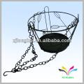 Hanging type 1 holder garden household basket wall flower pots rack