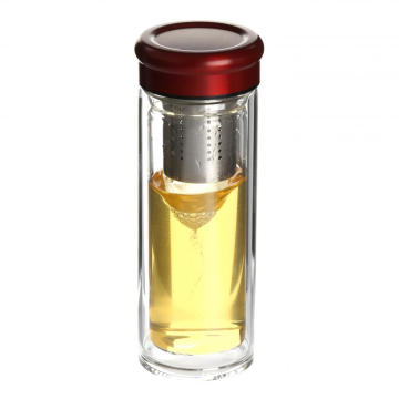 New Trendy Products Double Wall Glass Bottle