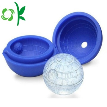 Silikon Freezie Molds Sphere Ice Ball Cube Tray