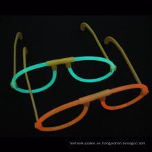 Gafas fluorescentes de brillo