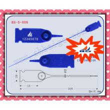Sello de plástico ajustable sello de plástico BG-S-006 para uso ajustable, cinta de sellado de contenedores, bloqueo de contenedores