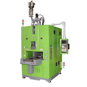 Vertical injection machine for automotive seal