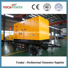 250kVA/200kw Trailer Mobile Diesel Generator with Shangchai Engine