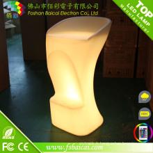 Chaise de bar moderne avec LED Light / Low Factory Chair Chair Bar (BCR-807C)