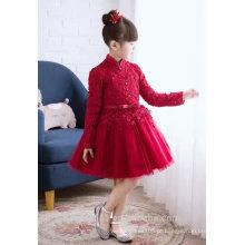 Lates tChildren vestido vermelho vestido de noite, vestido de baile, vestido de festa ED536
