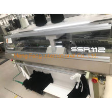 Shima Seiki SSR 112sv 7g Year 2018 Used Flat Knitting with Sub Roller with Good Needles Making Sweaters