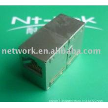 NT-K034 stp cat5e cat6 rj45 wire coupler