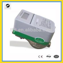Medidor de água quente e fria de cartão RC pré-pago sem fio para projeto de melhoria de água de abastecimento comunitário