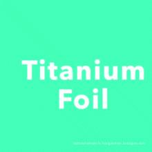 Titan polonais de 6al4v gr5 emboutissant le papier d'aluminium en ventes