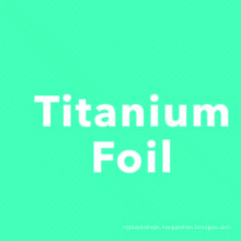 Medical grade ASTM F136 Gr5 titanium 6al-4v 0.1mm foil price