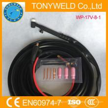 Tig accessoires de soudage torche tig refroidi par air wp-17v