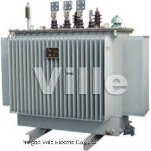 Transformador de distribución / transformador de potencia / subestación de potencia