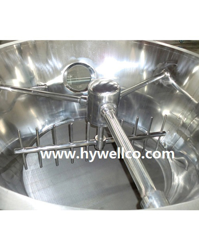 Humidity Block Material Fluidizing Dryer