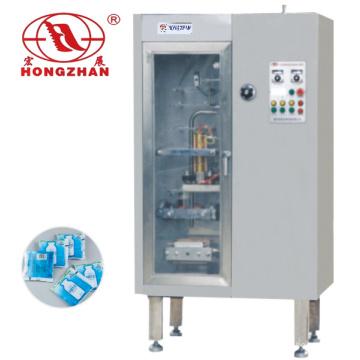 Automática de llenado máquina de sellado para salsa leche agua de salsa de tomate con PE y laminado bolsa de película compleja