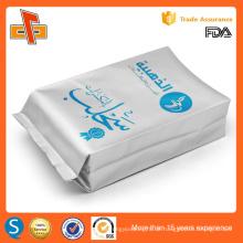 OEM Aluminiumfolie laminiert Druck benutzerdefinierte Kaffee Bohnen Seite Zwickel Tasche 250g