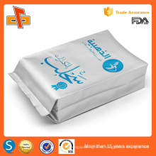OEM de aluminio de laminado de impresión de frijol de café personalizado gusset bolsa 250g