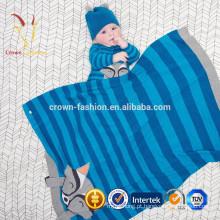 Lã Cobertor Listrado Merino Baoding Listrado
