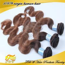 Compradores 100% europeus do cabelo humano do Virgin dos EUA