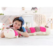 high quality plush caterpillar pillow