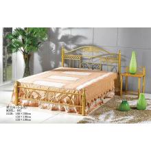 Золотая картина Спальня / Мебель для гостиниц Металлическая кровать (602 #)