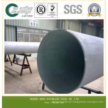 ASTM 316 304 Tubo / Tubulação de Aço Inoxidável 316L