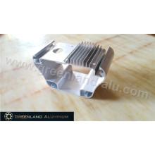 Dissipador de calor anodizado com tratamento de processamento profundo no perfil de alumínio
