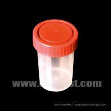 Contenant d'urine de spécimen sans graduation moled (33101060)