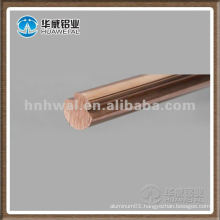 Silver-copper alloys electric train wire