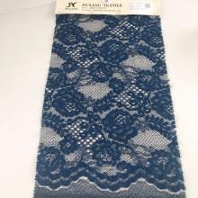 Navy Elegant Lace Fabric