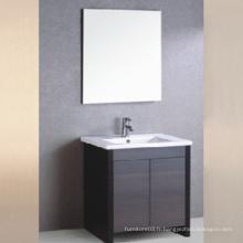 Hot Sale Europe Style Hotel Modern Style Mélamine Vanité de salle de bain