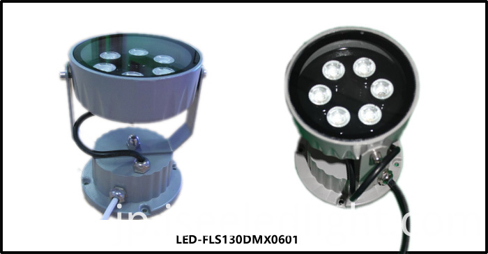 6W DMX LED spot light