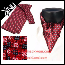 New Product Gentlemen Custom Print Silk Cravat Tie