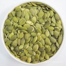 Kernels de abóbora brilham pele AA, sementes de abóbora natural de 100%
