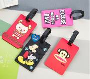 Custom PVC Travel Bag Tags